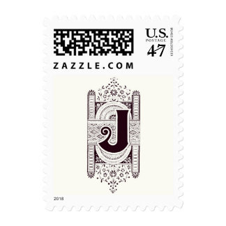Monogram J Postage