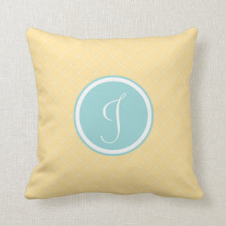 Monogram 'J' Throw Pillow