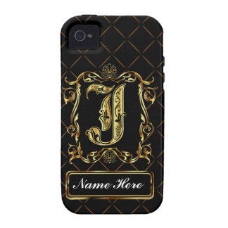Monogram J Vibe Important View Notes Please iPhone 4/4S Cover