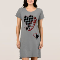 Monogram J Women's T-Shirt Dress