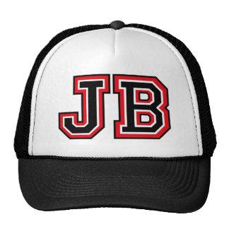 Monogram 'JB' Trucker Hat