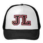 Monogram 'JL' Trucker Hat