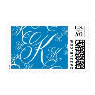 Monogram K 19 by Ceci New York Postage