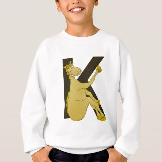 Monogram K Flexible Horse Personalised Sweatshirt