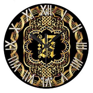 Monogram K IMPORTANT Read About Design Large Clock