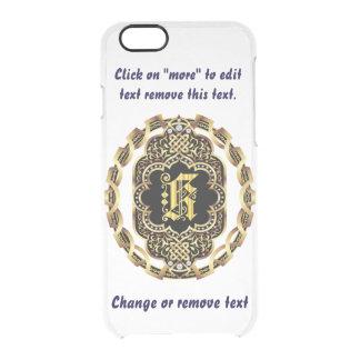 Monogram K iPhone 5/5s & 6-6 plus  Deflector Case