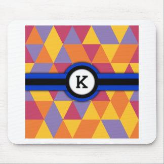 Monogram K Mouse Pad