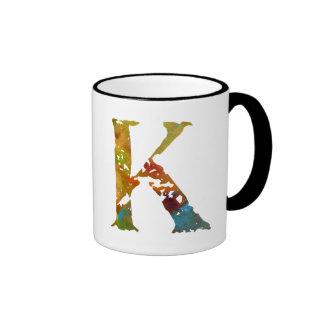 Monogram - K - Mug