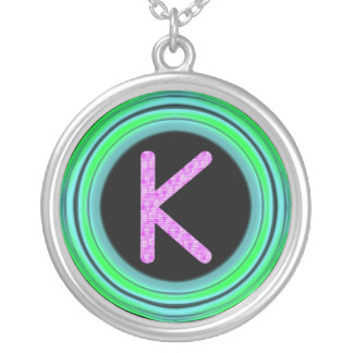 "Monogram ""K"" Necklace"