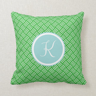 Monogram 'K' Throw Pillow