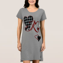 Monogram K Women's T-Shirt Dress