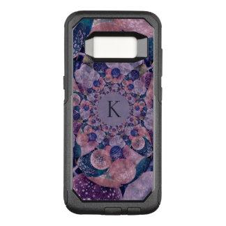 Monogram Kaleidoscope Purple And Pink Balloons OtterBox Commuter Samsung Galaxy S8 Case