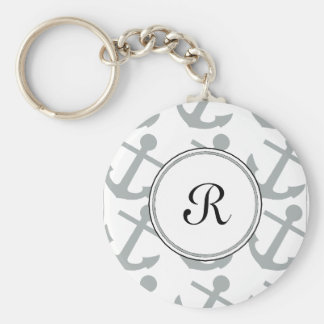 Monogram Keychain in New 2014 Color-Paloma