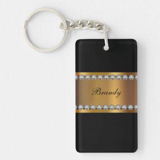 Monogram Keychains Two Side