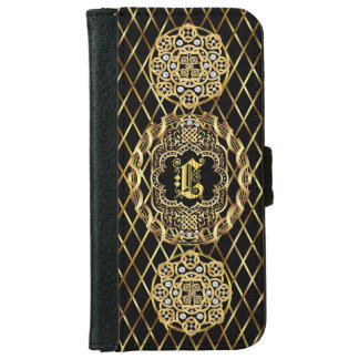 Monogram L IMPORTANT Read About Design Wallet Phone Case For iPhone 6/6s