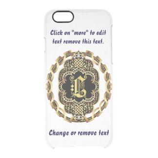 Monogram L iPhone 5/5s & 6-6 plus  Deflector Case