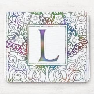 Monogram L Mouse Pad
