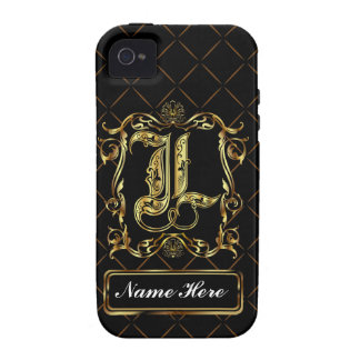 Monogram L Vibe Important View Notes Please iPhone 4/4S Cases