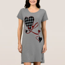 Monogram L Women's T-Shirt Dress
