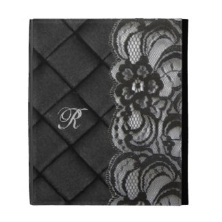 Monogram Lace iPad Folio Cases