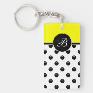 Monogram Ladies Keychain