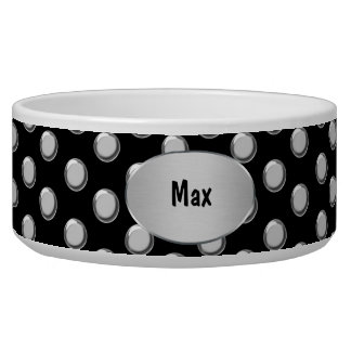 Monogram Large Dog Bowl