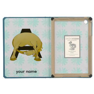 Monogram  Letter A Pony iPad Mini Covers