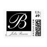 Monogram Letter B Stamp
