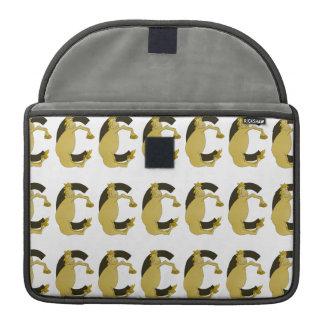 Monogram  Letter C Pony MacBook Pro Sleeve
