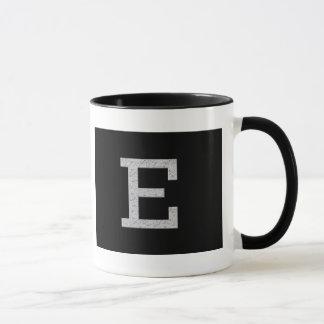 Monogram Letter E Mug