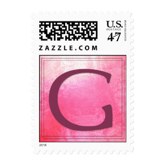 Monogram - Letter G - Gloria, Gretchen, et al Postage