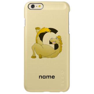 Monogram Letter G Pony Incipio Feather® Shine iPhone 6 Plus Case