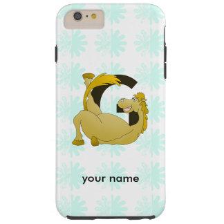 Monogram Letter G Pony Tough iPhone 6 Plus Case