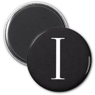 Monogram Letter I Magnet