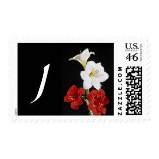 Monogram Letter J Postage