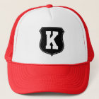 Monogram letter K hat | Personalized sports caps