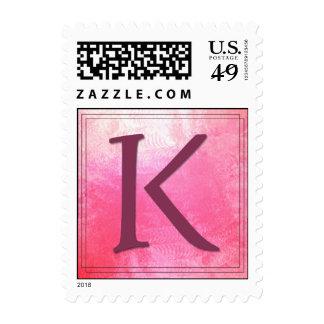 Monogram - Letter K - Kathy, Karen, et al Stamps