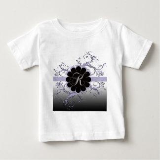 Monogram Letter K Violet Infant T-shirt