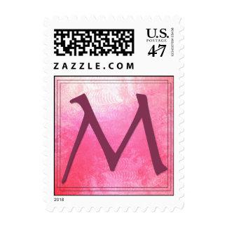 Monogram - Letter M - Maria, Maureen, et al Postage