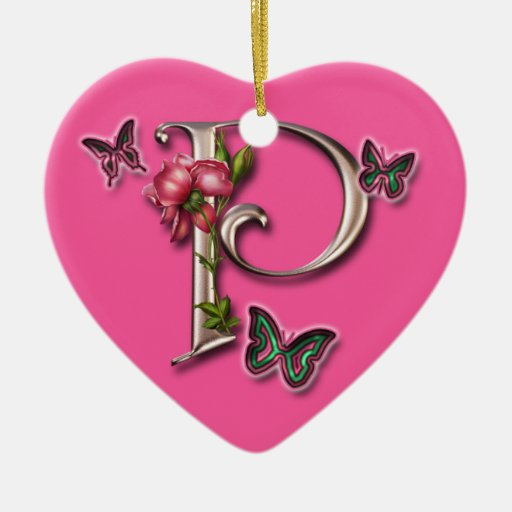The gallery for --> P Letter Images In Heart