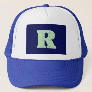 Monogram Letter R Trucker Hat