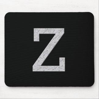 Monogram Letter Z Mouse Pad