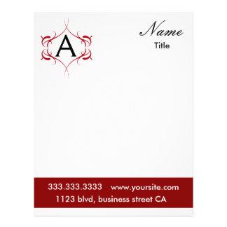 monogram letterhead
