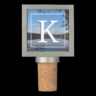 Monogram Loch Raven Reservoir Custom Wine Stopper