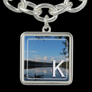 Monogram Loch Raven Reservoir Personalized Bracelet