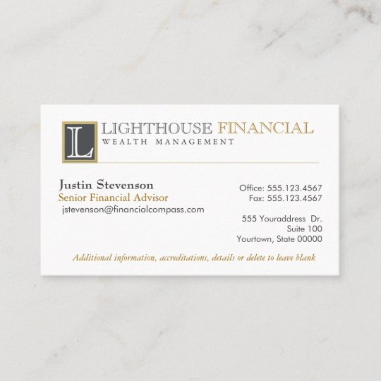 Monogram logo financial advisor professional business card zazzle monogram logo financial advisor professional business card colourmoves