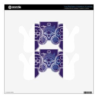 Monogram Logo Vector art Decal For PS3 Controller