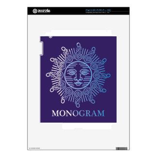 Monogram Logo Vector art iPad 2 Skin