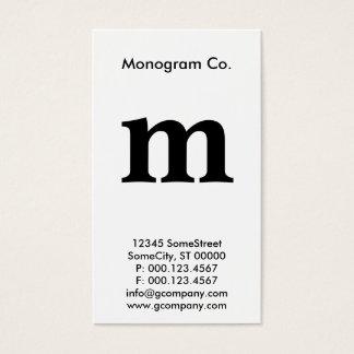 monogram loyalty rewards card
