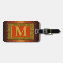 Monogram Luggage Tag